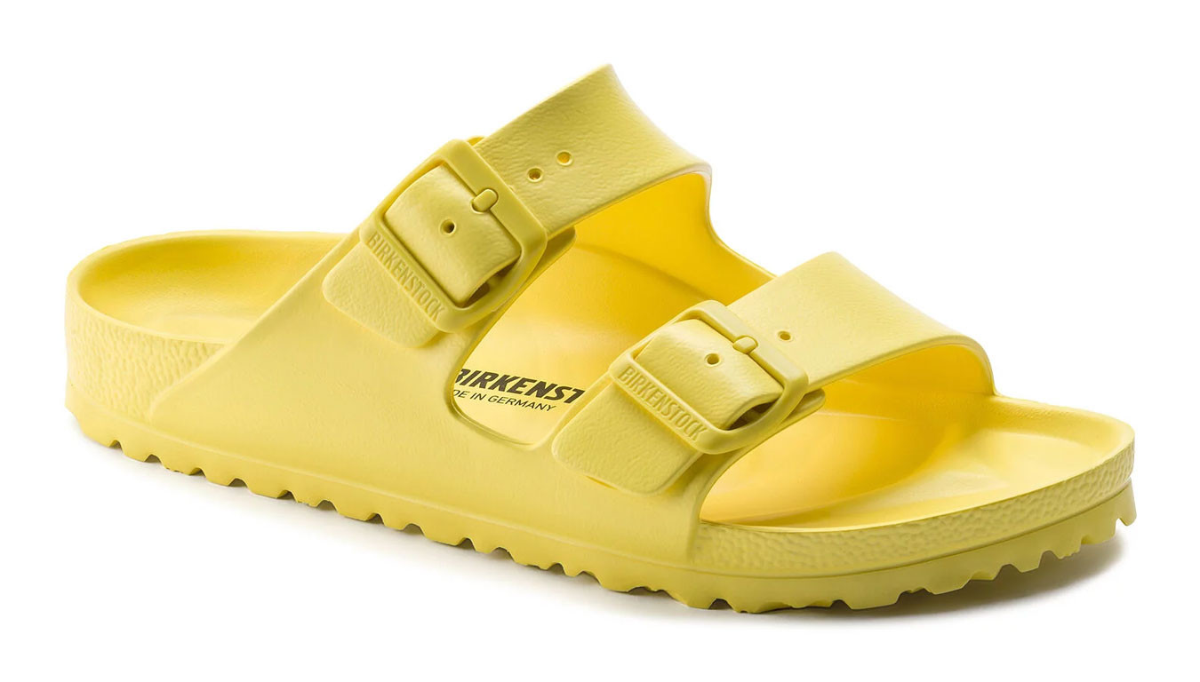 newest 7e953 47705 Birkenstock Arizona EVA Vibrant Yellow