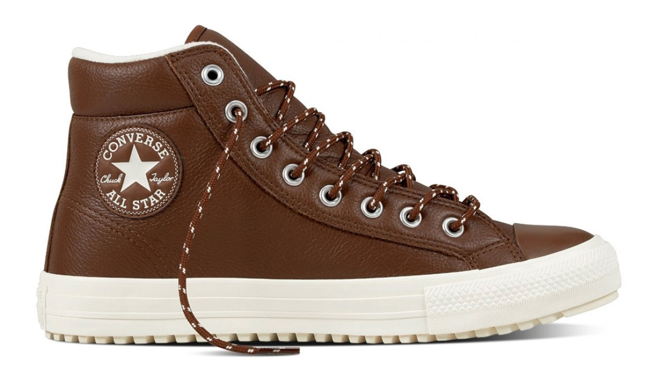 converse all star marrone