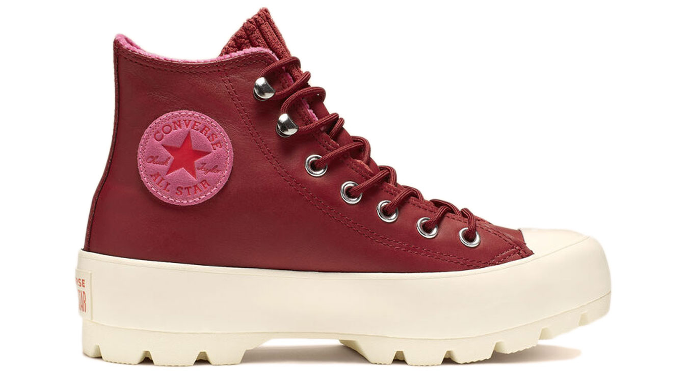 Converse Chuck Taylor All Star Lugged Winter Retrograde Gore Tex Pink